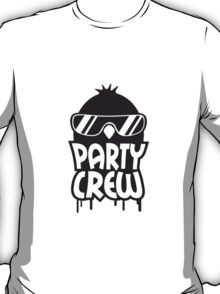 Cool Party Crew Penguin T-Shirt