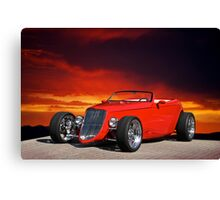 1933 Ford Custom Roadster I Canvas Print