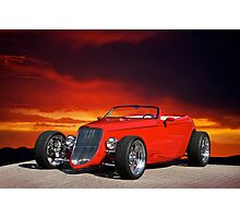 1933 Ford Custom Roadster I Photographic Print