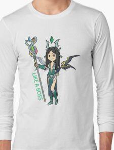 Smite - Like a boss (Chibi) Long Sleeve T-Shirt