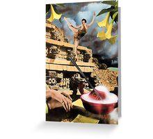 Dance of The Tigress Greeting Card