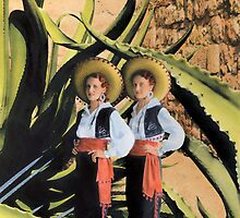 In The Garden of The Giant Agave by Bill Blair