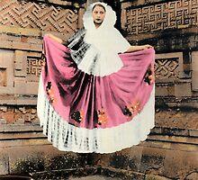 The Levitating Tehuana by Bill Blair