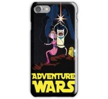 Adventure time star wars  iPhone Case/Skin