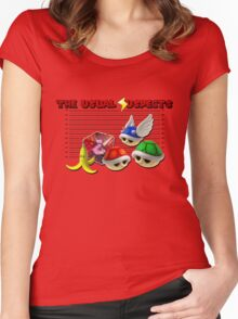 THE USUAL SUSPECTS - MARIO KART Women's Fitted Scoop T-Shirt
