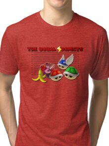 THE USUAL SUSPECTS - MARIO KART Tri-blend T-Shirt
