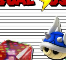 THE USUAL SUSPECTS - MARIO KART Sticker