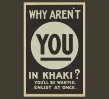 Why Aren't You in Khaki? by GhostGravity
