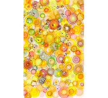 Waves of Juicy Art card Photographic Print