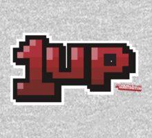 1up - Gamer Video Games Geek One Piece - Long Sleeve