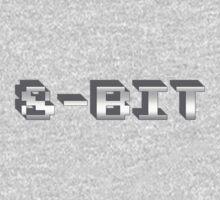 8 - Bit Gamer Video Games Geek One Piece - Long Sleeve