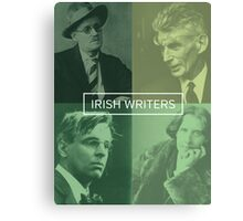 Irish Writers  Canvas Print