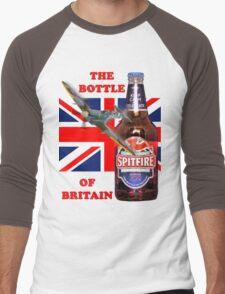 The  Bottle Of Britain Tee Shirt Men's Baseball ¾ T-Shirt