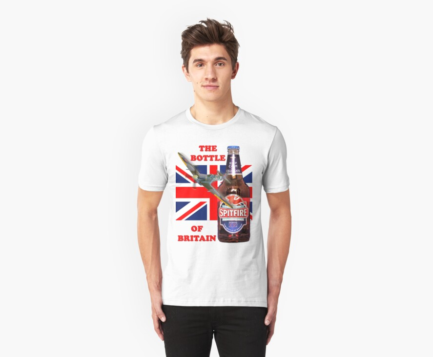 The  Bottle Of Britain Tee Shirt by Colin  Williams Photography