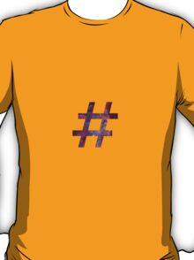 hashtag t-shirt, hoodie and sticker T-Shirt