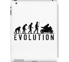 Evolution of Man Steet Motorbike iPad Case/Skin