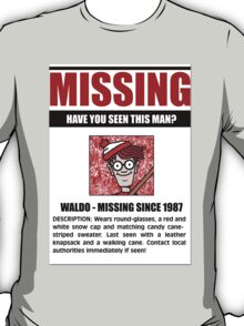 MISSING: Waldo T-Shirt