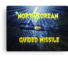 NORTH  KOREAN Canvas Print