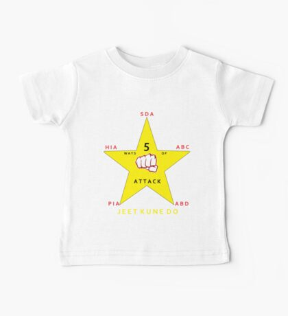 JKD 5 ways of Attack JKD Baby Tee