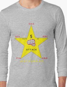 JKD 5 ways of Attack JKD Long Sleeve T-Shirt