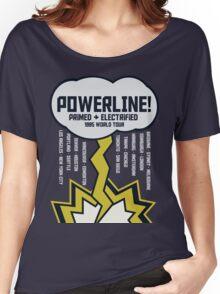 Powerline World Tour Women's Relaxed Fit T-Shirt