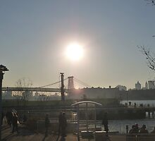 Brooklyn Sun by Lauren Kaufmann