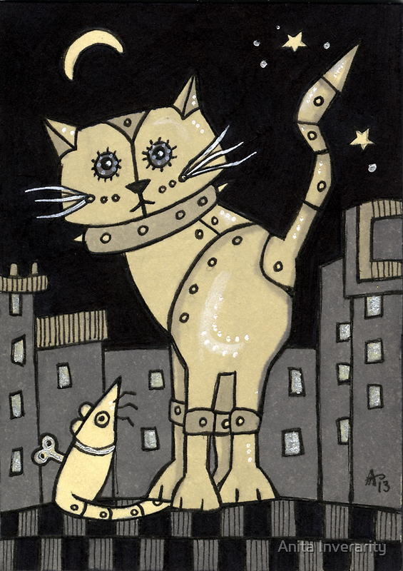 RoboCat by Anita Inverarity