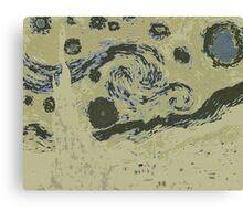 Inverted van Gogh Canvas Print