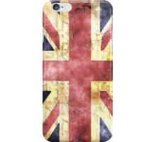 Union Jack Flag in watercolour  iPhone Case/Skin