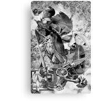 Icarus Marcel. Canvas Print