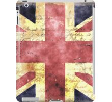 Union Jack Flag in watercolour  iPad Case/Skin