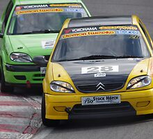 750 MC Stock Hatch - #28 Andrew Tibbs / #53 Rob Drake - Citroen Saxo - Druids, Brands Hatch by motapics