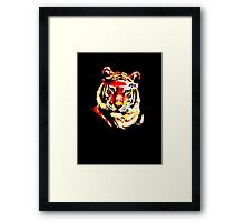 Karate Tiger  Framed Print