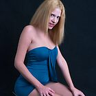 Blue dress by Mountainimage