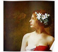 Fleurs Dans Ses Cheveux.... Poster