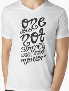 One does not simply walk into Mordor. T-Shirt