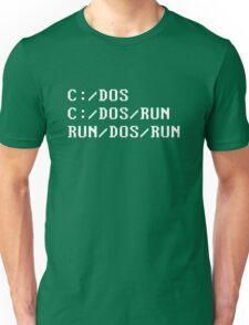 C:/DOS Unisex T-Shirt