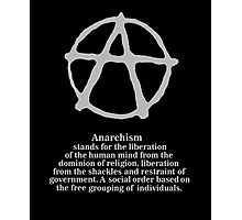 Anarchy. Photographic Print