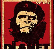 Revolution of the Planet of the Apes by billybot