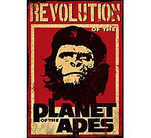 Revolution of the Planet of the Apes Photographic Print