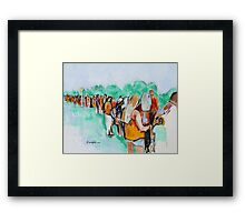 The Price of Admission Framed Print