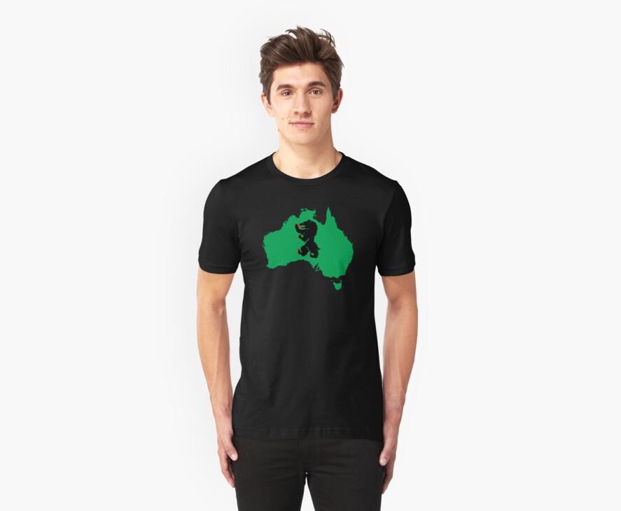 Aussie Bear! by mancerbear