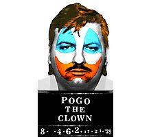 John Wayne Gacy a.k.a Pogo the Clown Photographic Print