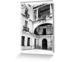 ©MS Hacienda Mexicana I Greeting Card