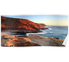 Kalbarri Cliffs, Western Australia Poster