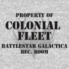 Colonial Fleet Battlestar Galactica Rec. Room by trebory6
