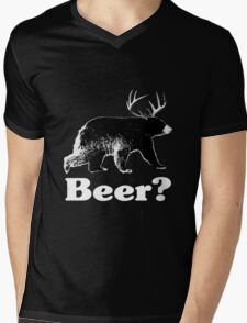 Beer? Mens V-Neck T-Shirt