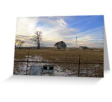 Rural Relics Greeting Card