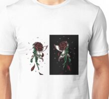 Enchanted Double Rose Unisex T-Shirt