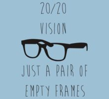 Hipster Glasses - 20/20 Vision by LukeSimms